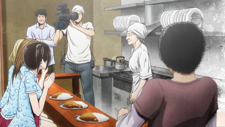 「Back Street Girls -ゴクドルズ-」第8話の場面写真。