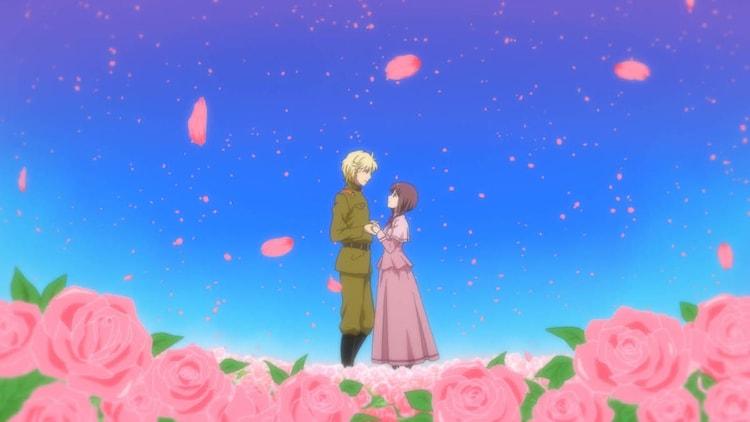 アニメ映画「劇場版 はいからさんが通る 後編 ~花の東京大ロマン~」特報映像より。