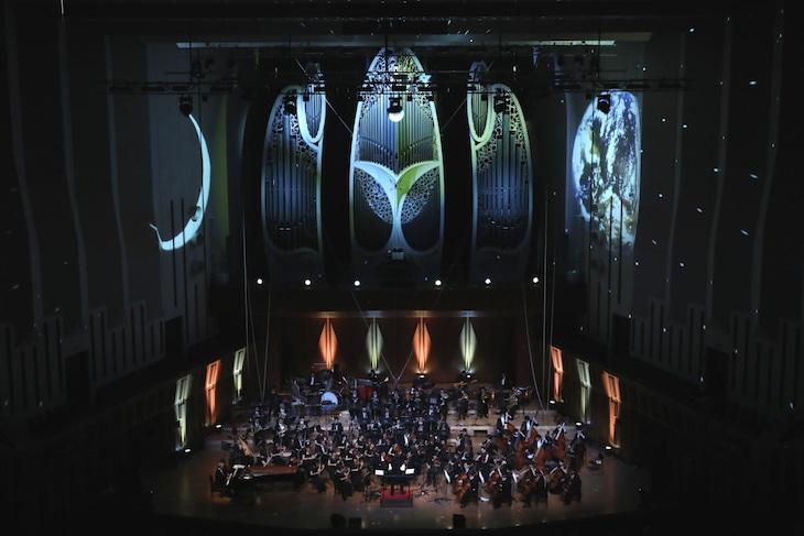 「美少女戦士セーラームーンClassic Concert 2018」の様子。(写真:堀衛)