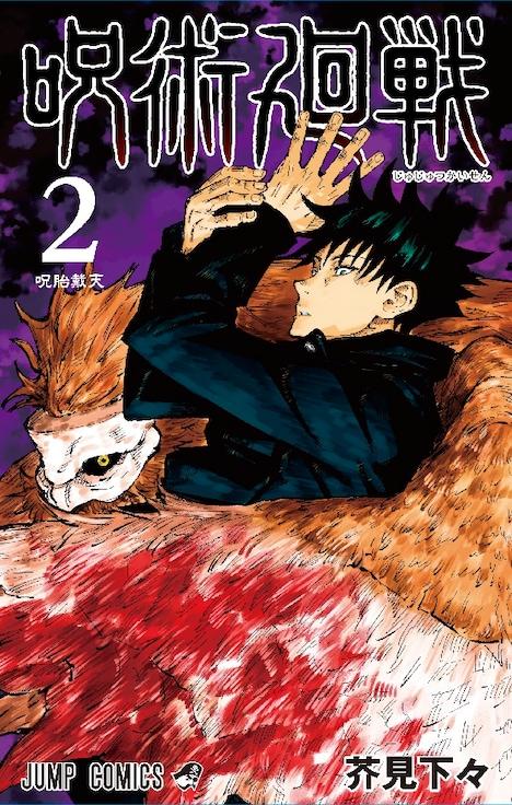「呪術廻戦」2巻 (c)芥見下々/集英社