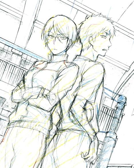新作アニメOADのラフ。