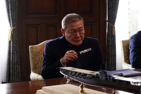 國村隼扮する永野修身。