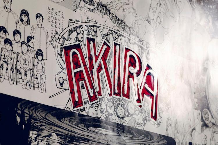 「AKIRA」をモチーフにした超特大カレンダー。