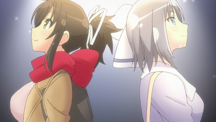 TVアニメ「閃乱カグラ SHINOVI MASTER -東京妖魔篇-」PV第2弾より。
