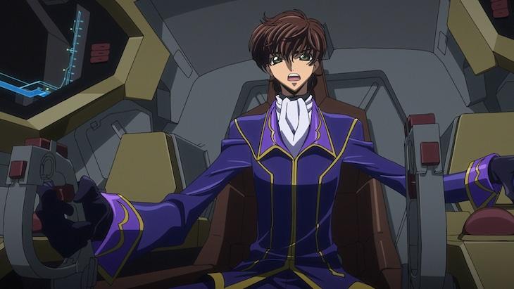 劇場アニメ「コードギアス 復活のルルーシュ」予告第1弾より。