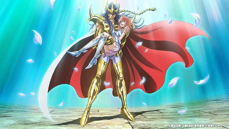 「聖闘士星矢 セインティア翔」キービジュアル