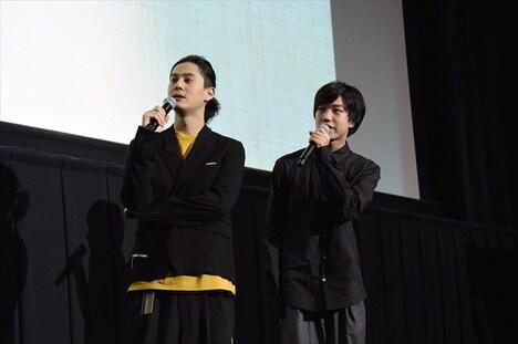 左から武内駿輔、吉永拓斗。