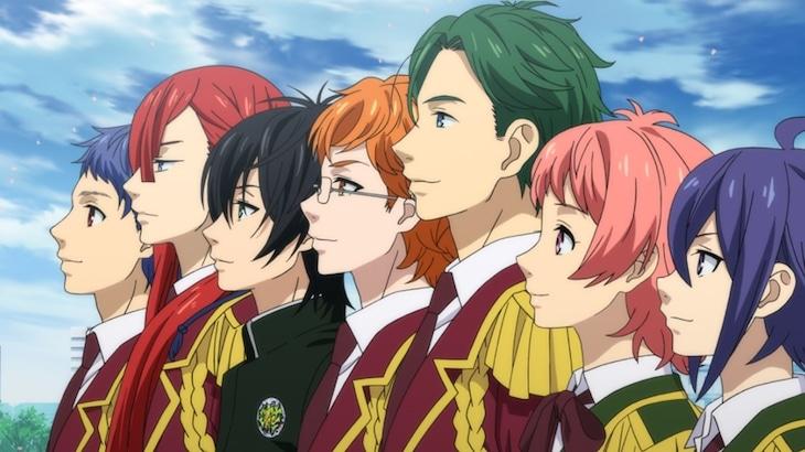 「KING OF PRISM -Shiny Seven Stars-」本予告映像より。