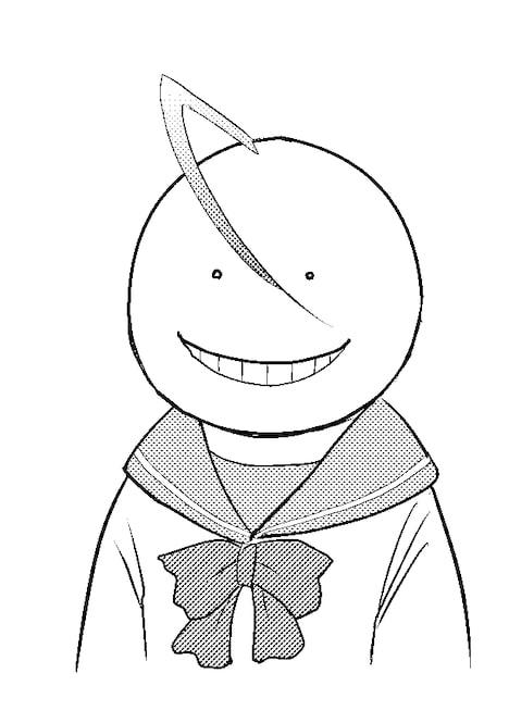 松井優征の描き下ろしイラスト。(c)松井優征/集英社