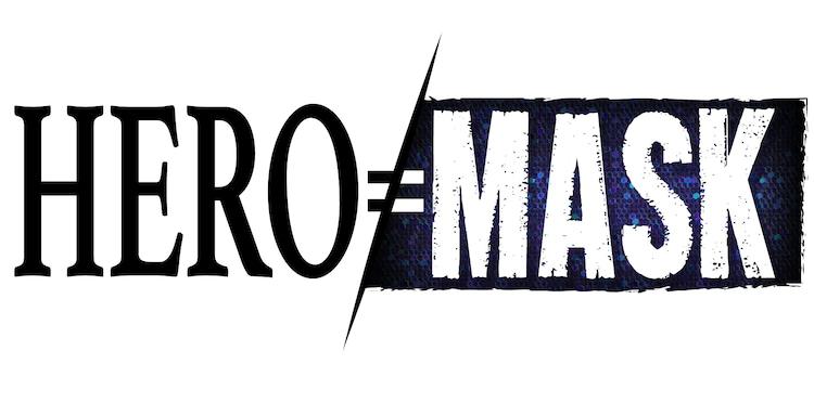「HERO MASK」ロゴ