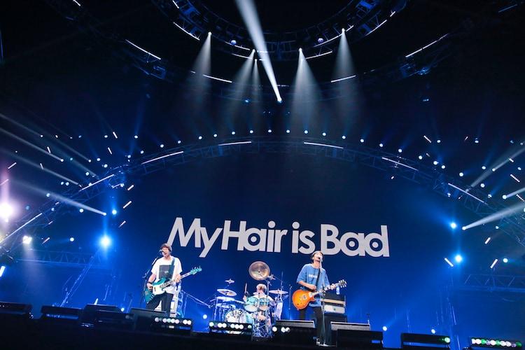 My Hair is Bad(撮影:山内洋枝)