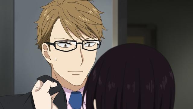 TVアニメ「真夜中のオカルト公務員」第2弾PVより、前野智昭演じる榊京一。