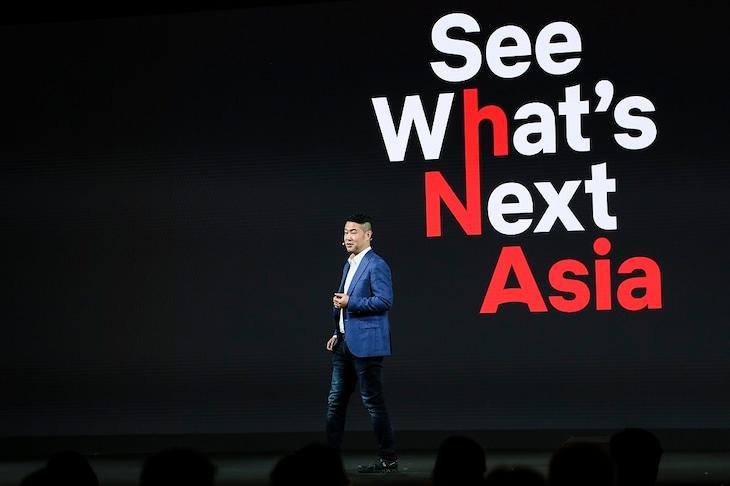 イベント「See What's Next:Asia」の様子。