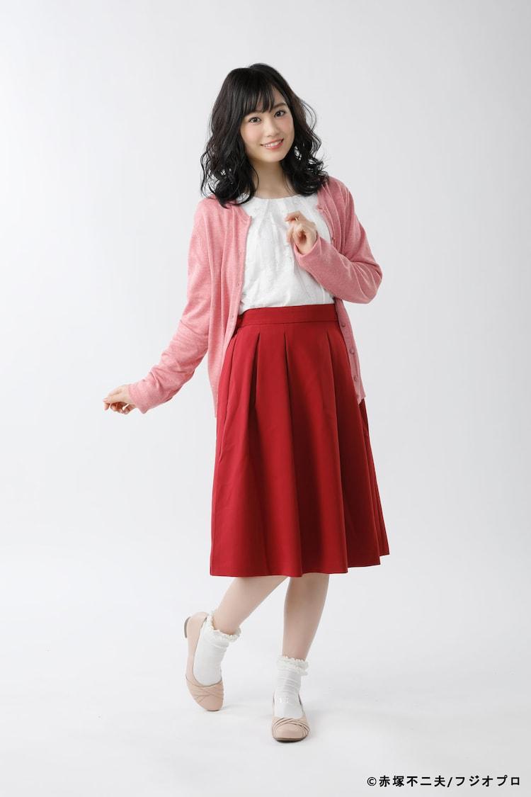 伊藤優衣扮するユリ子。