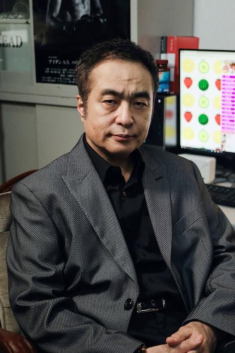 ミスジ役の松尾スズキ。