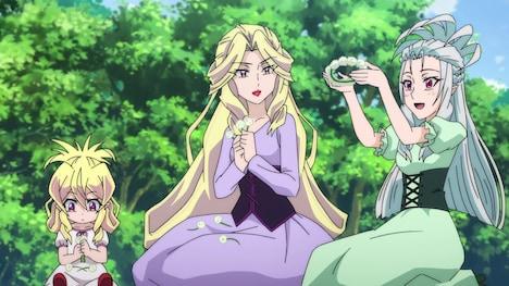 TVアニメ「ゲゲゲの鬼太郎」第35話「運命の魔女たち」より。
