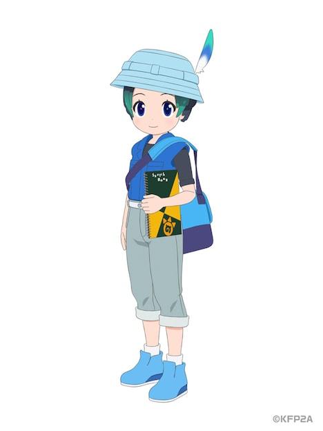 キュルルのキャラクタービジュアル。