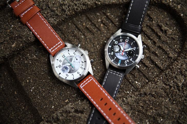 「宇宙兄弟」10周年記念腕時計。