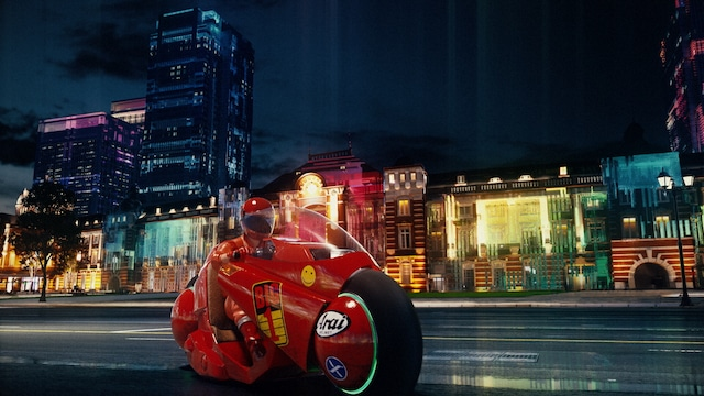 「東京リボーン」第1集「ベイエリア 未来都市への挑戦」オープニングイメージ映像より。(c)大友克洋/マッシュルーム/講談社