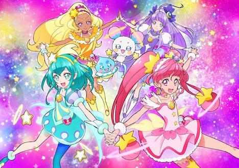 「スター☆トゥインクルプリキュア」ビジュアル