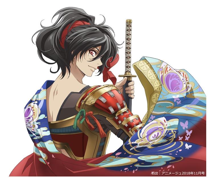 TVアニメ「胡蝶綺 ~若き信長~」ビジュアル