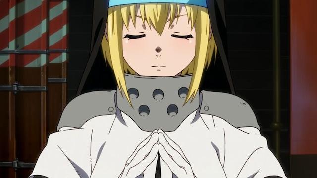 TVアニメ「炎炎ノ消防隊」ティザーPVより。