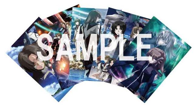 「蒼穹のファフナー HEAVEN AND EARTH」4DX上映の後期入場特典となるポストカード5枚セット。(c)XEBEC/FAFNER PROJECT