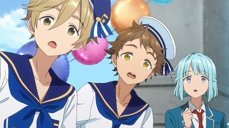 TVアニメ「あんさんぶるスターズ!」第1弾PVより。