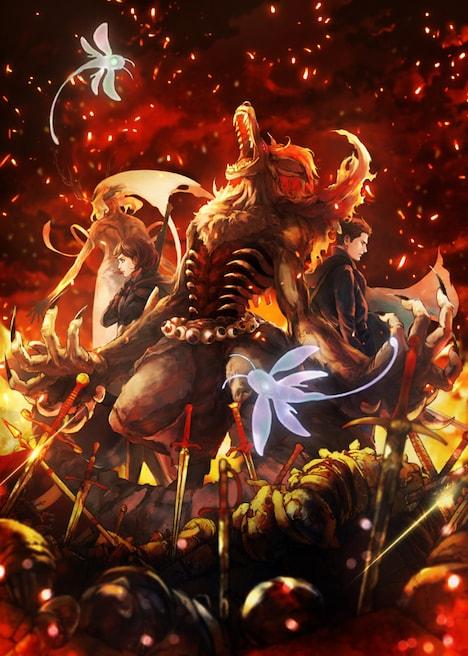 TVアニメ「Fairy gone フェアリーゴーン」ティザービジュアル