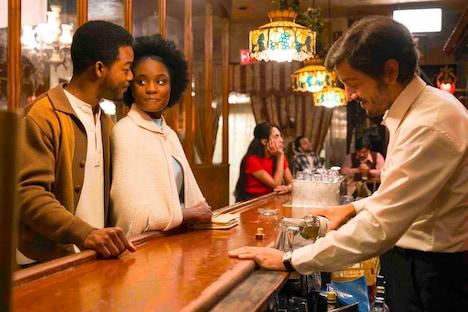 「ビール・ストリートの恋人たち」より、ペドロシート役のディエゴ・ルナ(右)。