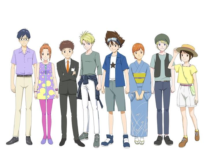 「劇場版デジモンアドベンチャー(仮題)」キャラクターデザイン
