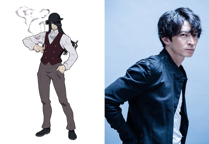 左からジョーカー、津田健次郎。