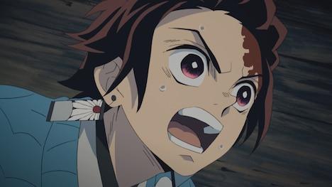 TVアニメ「鬼滅の刃」より。花江夏樹演じる炭治郎。