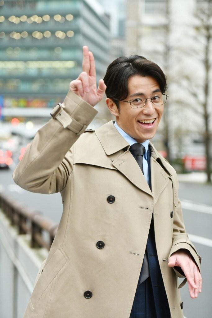 藤森慎吾扮する御子柴隼人。