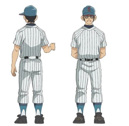 西村勇(CV:中尾隆聖)。「タッチ」で浅倉南を追いかけていた上杉達也のライバル。現在は母校、勢南高校野球部の監督をしている。