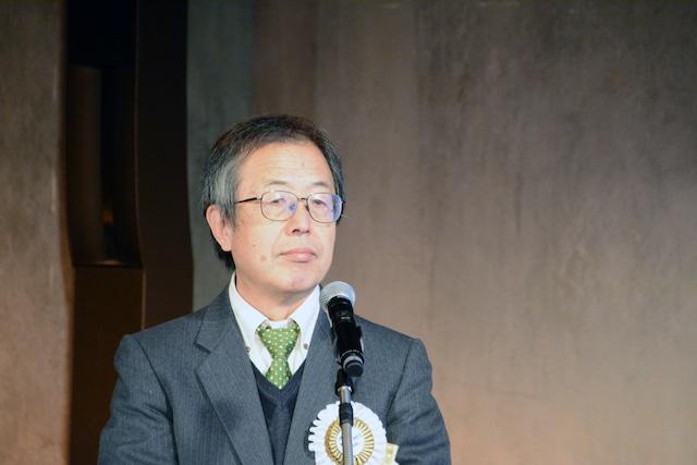 アニメーション部門の審査委員・横田正夫氏。
