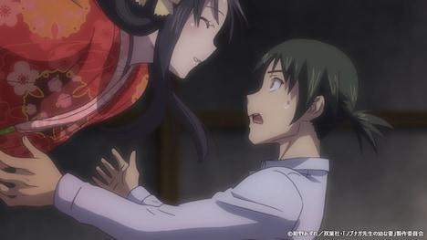 TVアニメ「ノブナガ先生の幼な妻」PVより。