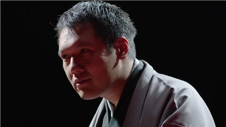 「ワノ国 ~侍の国の冒険~」の一幕を演じる神田松之丞。