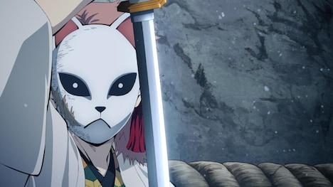 TVアニメ「鬼滅の刃」より。梶裕貴演じる錆兎。