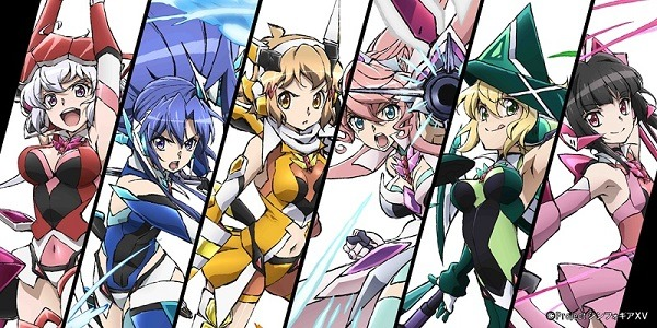 TVアニメ「戦姫絶唱シンフォギアXV」ティザービジュアル