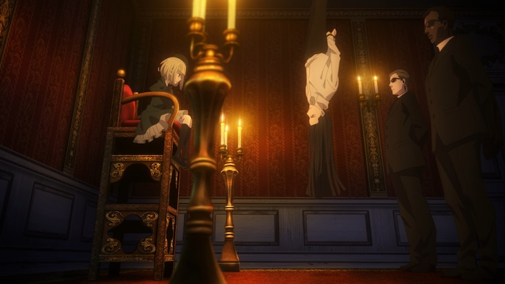 TVアニメ「ロード・エルメロイII世の事件簿 -魔眼蒐集列車 Grace note-」第2弾PVより。