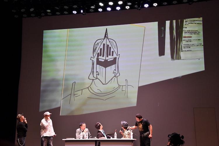 ホリが描いたロビンマスク。