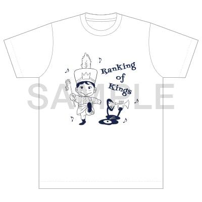 「王様ランキング×TOWER RECORDS Tシャツ 白」