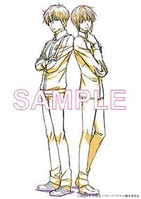 セブンネット全巻購入特典のアニメ描き下ろしブランケット。