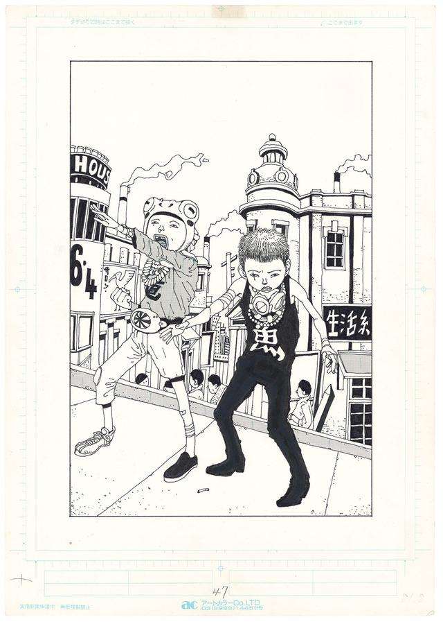 「鉄コン筋クリート」より。(c)TAIYOU MATSUMOTO/SHOGAKUKAN INC.