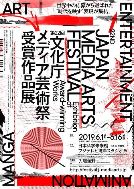 第22回文化庁メディア芸術祭 受賞作品展ビジュアル