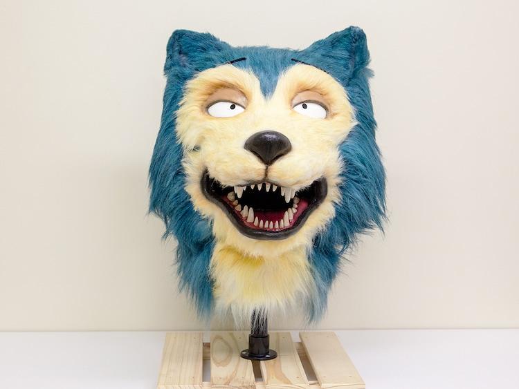 「BEASTARS」レゴシのマスク。