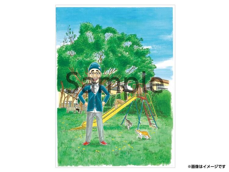浜岡賢次が「浦安鉄筋家族」シリーズの好きなキャラとの2ショットを描いてくれる権利。