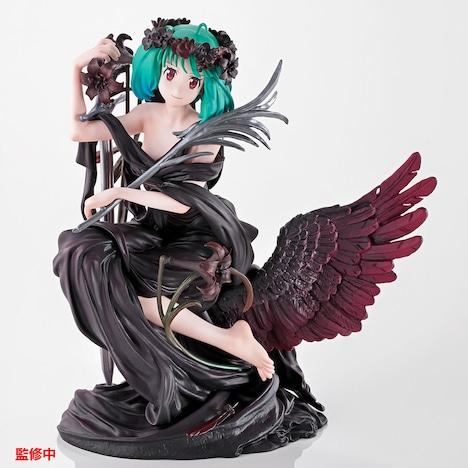 「B賞:The Super Dimension Black Venus ランカ・リー フィギュア」正面