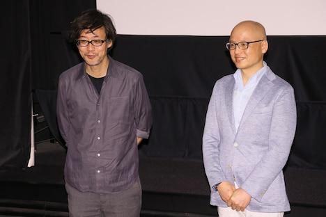 左から山崎貴監督、三田紀房。